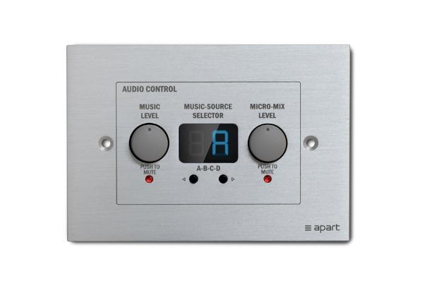 - Apart ZONE4R Wall Kontrol Panel