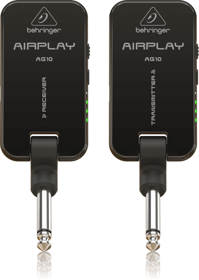 Behringer - BEHRINGER AIRPLAY GUITAR ULG10 High-Performance 2.4 GHz Guitar Wireless System with Ultra-Low Latency and Rechargeable Battery