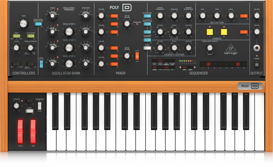 Behringer - BEHRINGER POLY D Synthesizers and Samplers Keyboards