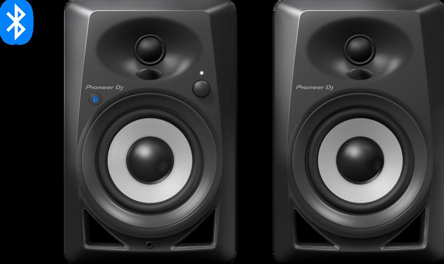 - Pioneer DJ DM-40BT-K Bluetoothlu Referans Monitörü (Siyah)