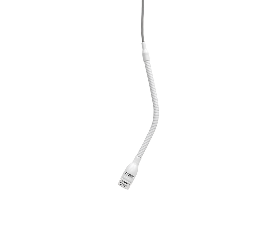 - Shure MX202W/S Mini Condenser Asılabilir Mikrofon