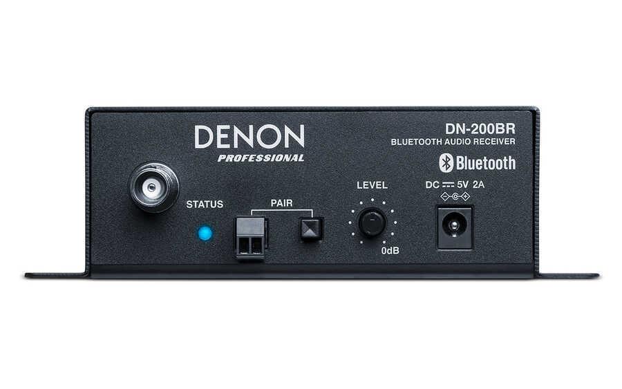 - Denon DN-200 BR Stereo Bluetooth® Audio Receiver