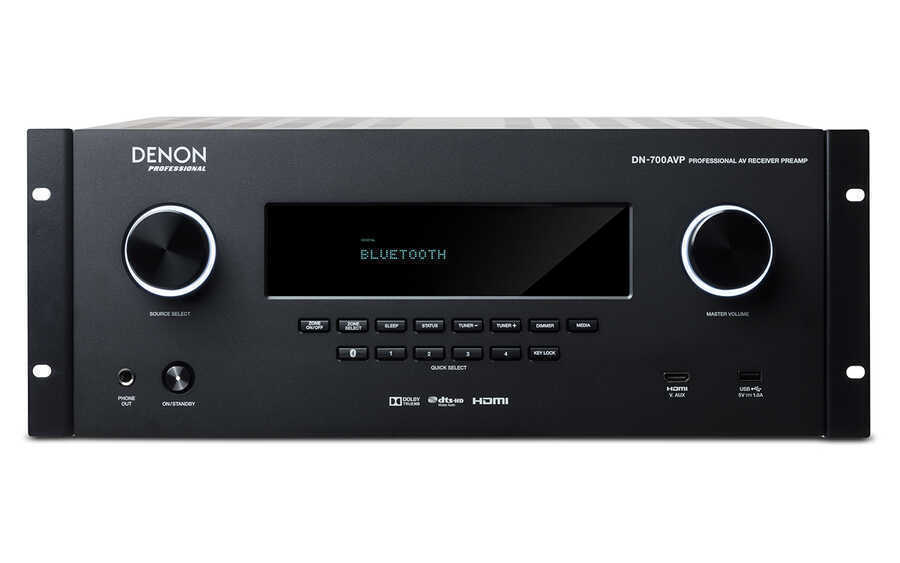 - Denon DN-700 AVP Professional AV Receiver Preamp