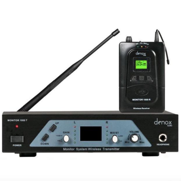 - Denox MONITOR 1000 in-ear Kişisel Monitör Sistemi