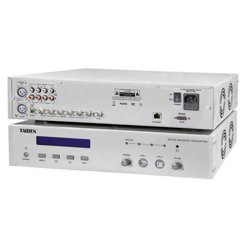 - Taiden HCS 5100MC/08 N 8 Kanal Digital IR Transmitter