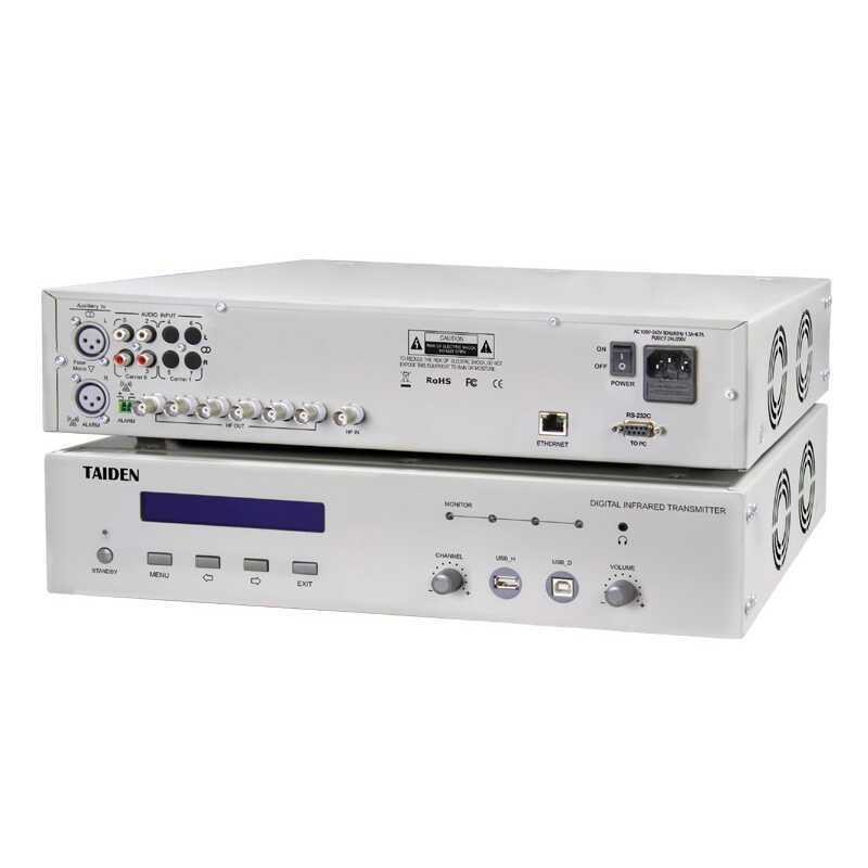 - Taiden HCS 5100MC/04 N 4 Channel Digital IR Transmitter
