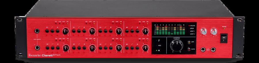 - Focusrite CLARETT 8 PreX USB Ses Kartı