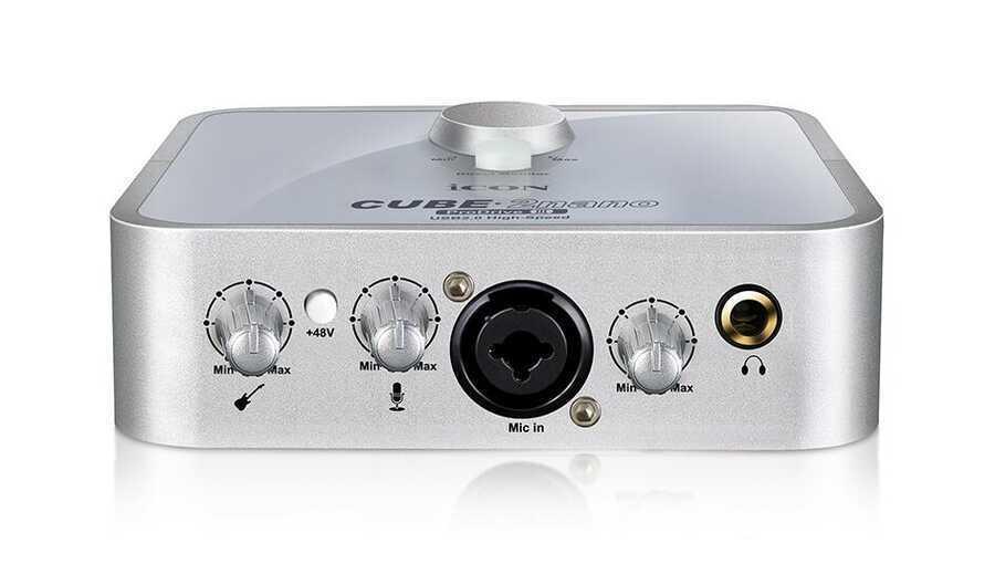- ICON Cube 2 Nano (Prodrive III) 2 Giriş 2 Çıkış USB Profesyonel Ses Kartı