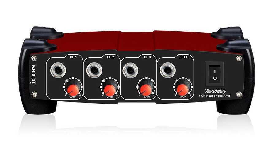 - ICON Neo Amp 4 Kanal Kulaklık Amplifikatörü