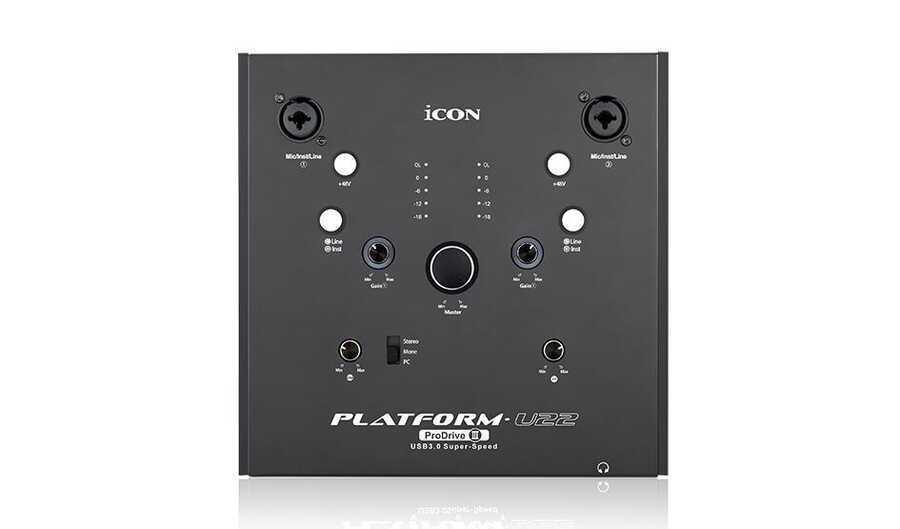 - ICON Platform U22 Prodrive III USB 3.0 Ses Kartı