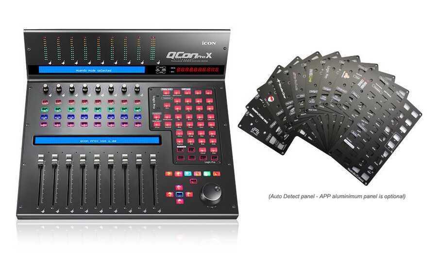 - ICON QCon Pro X Daw Kontol Ünitesi