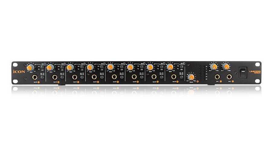 - ICON Umix 1010 Rack 10 Giriş 10 Çıkış USB Ses Kartı
