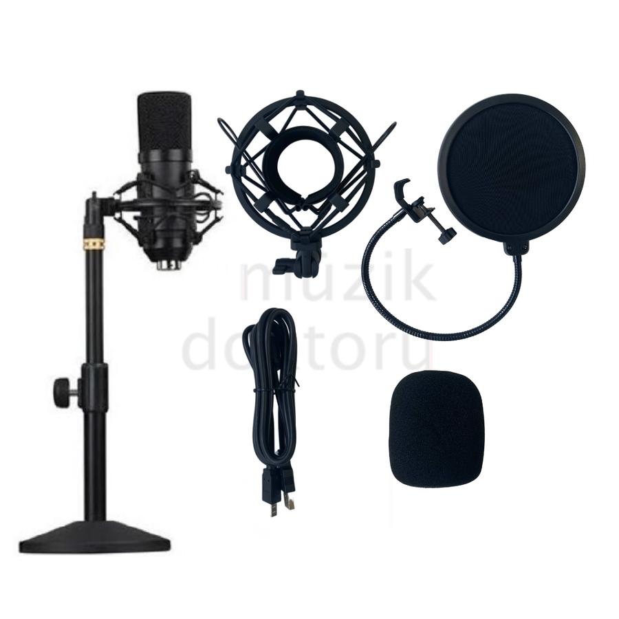 - Lea L-2700 Condenser Mikrofon Seti (192K)