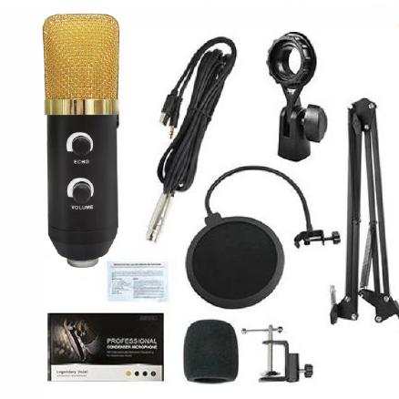 - Lea L-3700 Condenser Mikrofon Seti