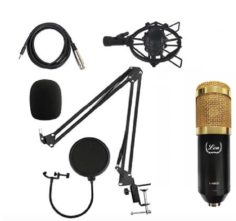 - Lea L-4800 Condenser Mikrofon Seti