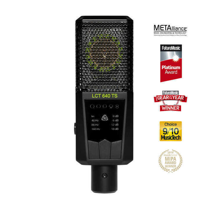 - Lewitt LCT 640 TS Condenser Stüdyo Mikrofonu