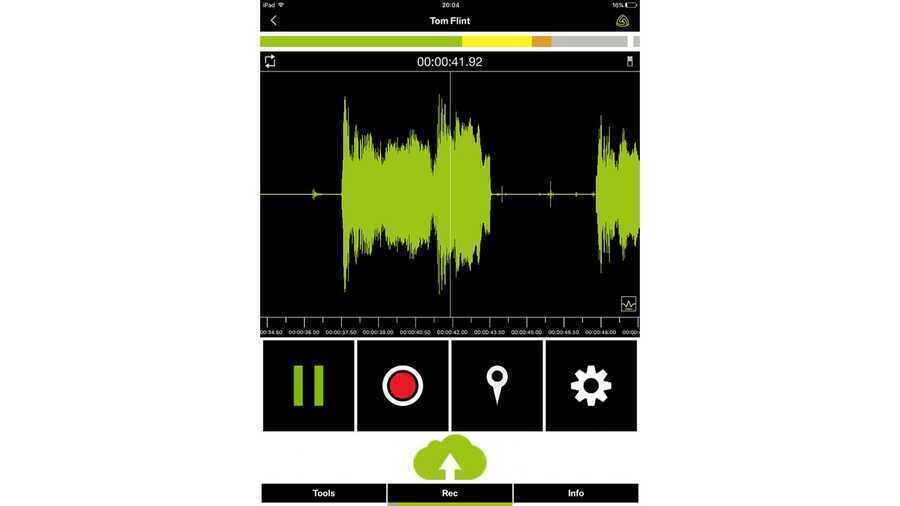 - Lewitt Recorder Mobil Ses Kayıt Arayüzü