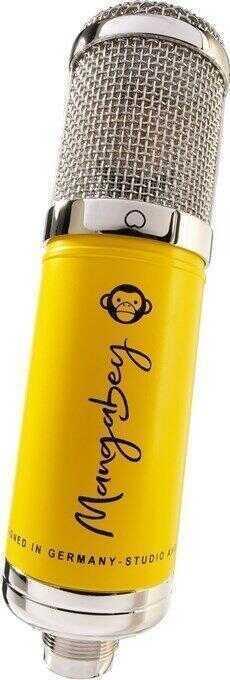 - Monkey Banana Mangabey Tüplü Condenser Mikrofon (Sarı)