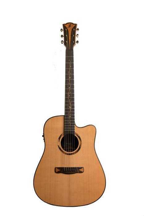 - Merida Alcazaba A-17DCES Elektro Akustik Gitar