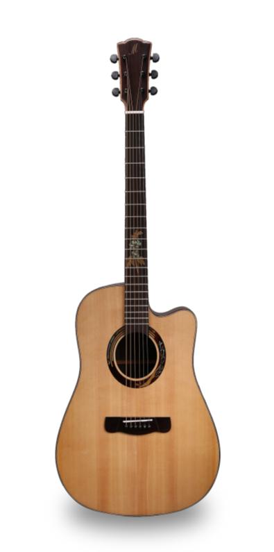 - Merida Alcazaba A-18DC1 Akustik Gitar