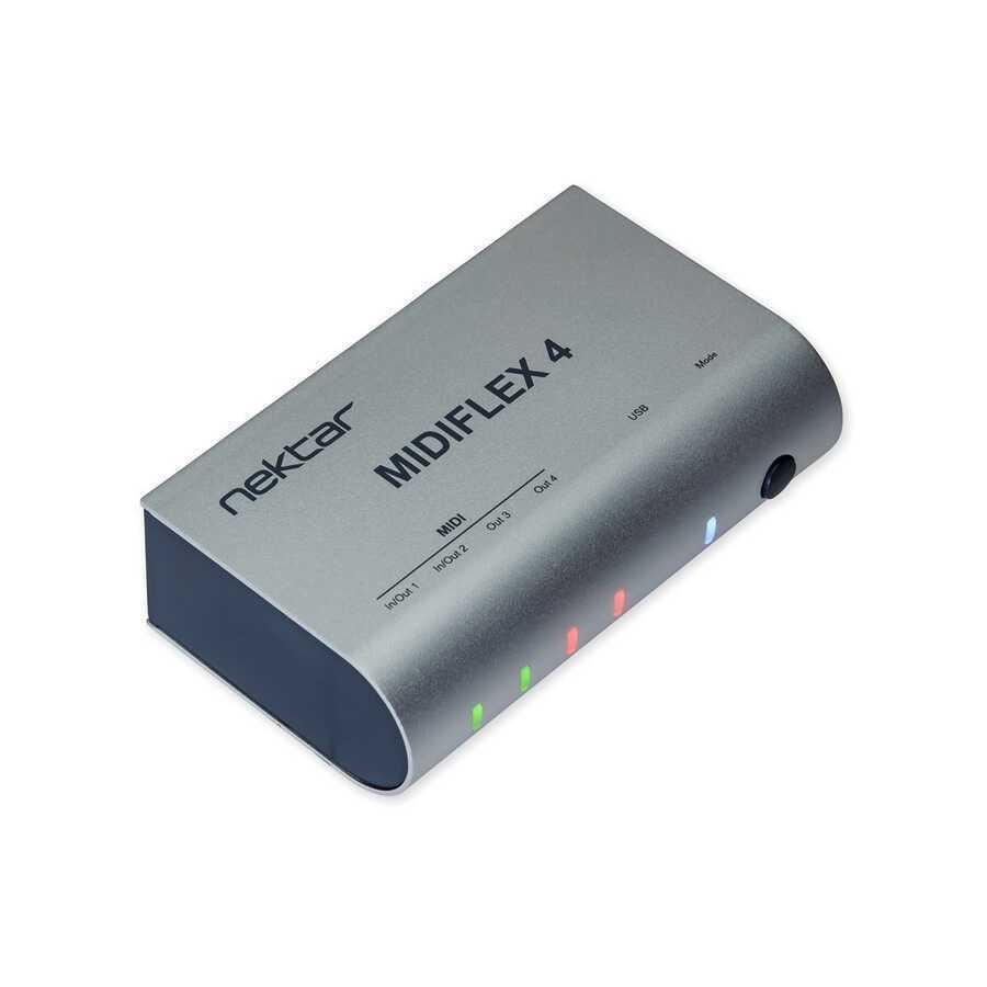 - Nektar MIDIFLEX4 USB MIDI Arayüz