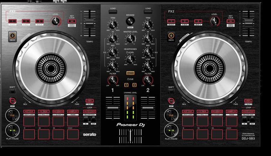 - Pioneer DJ DDJ-SB3 2 Kanal Controller