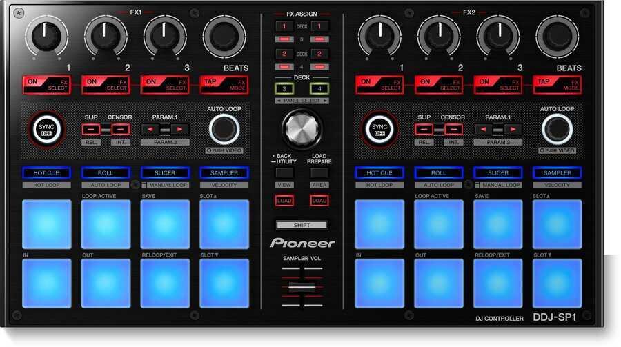 - Pioneer DJ DDJ-SP1 DJ Serato Midi Controller