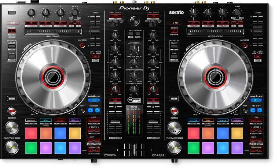 - Pioneer DJ DDJ-SR2 İki Kanal Portable Serato Dj Controller