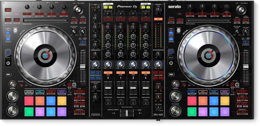 - Pioneer DJ DDJ-SZ2 Serato DJ Controller