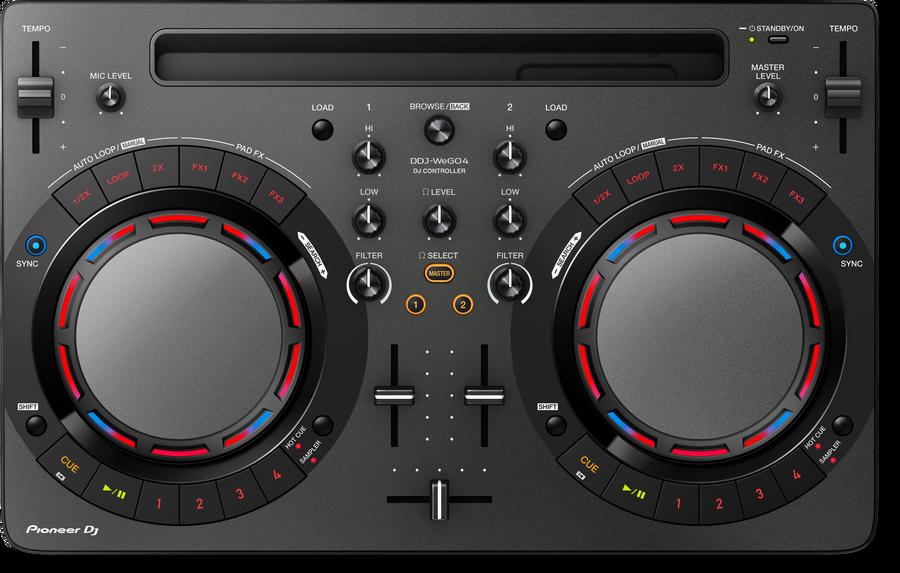 - Pioneer DJ DDJ-WeGO4-K DJ Controller