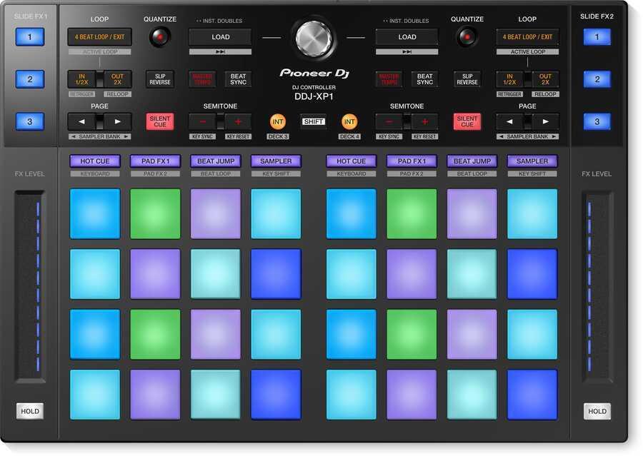 - Pioneer DJ DDJ-XP1 DJ Controller