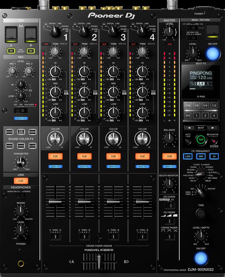 - Pioneer DJ DJM-900NXS-2 4 Kanal Profesyonel Dj Mixeri