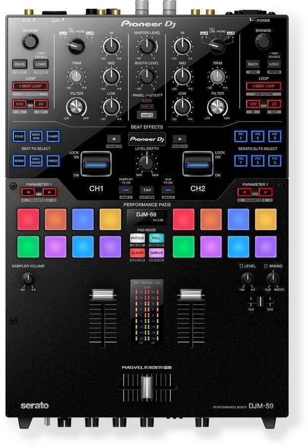 - Pioneer DJ DJM-S9 DJ Scratch Mixer