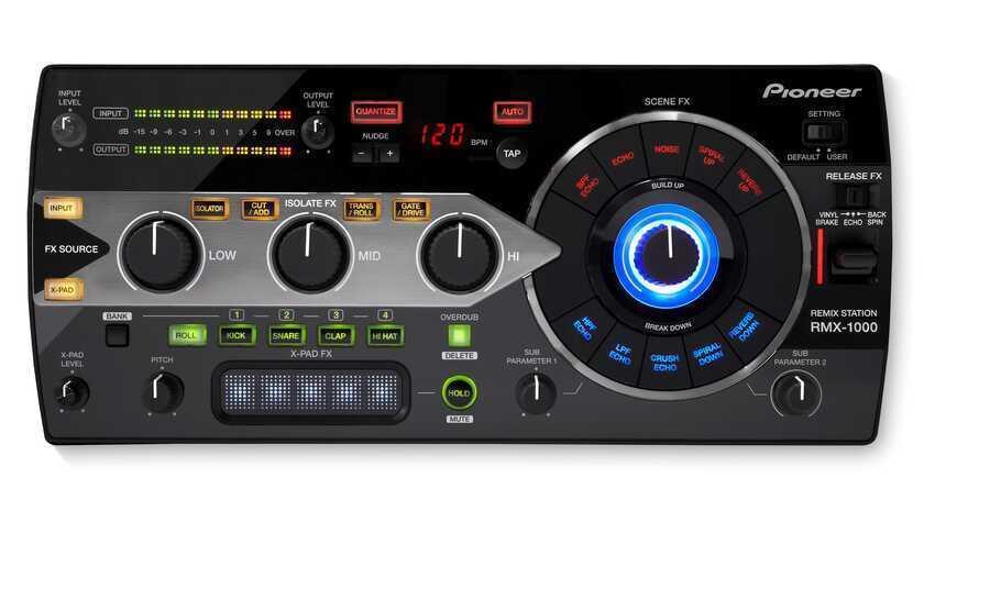 - Pioneer DJ RMX-1000 Profesyonel DJ Efekt Cihazı