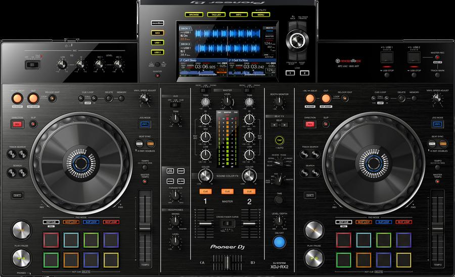 - Pioneer DJ XDJ-RX2 2 Kanal DJ Setup