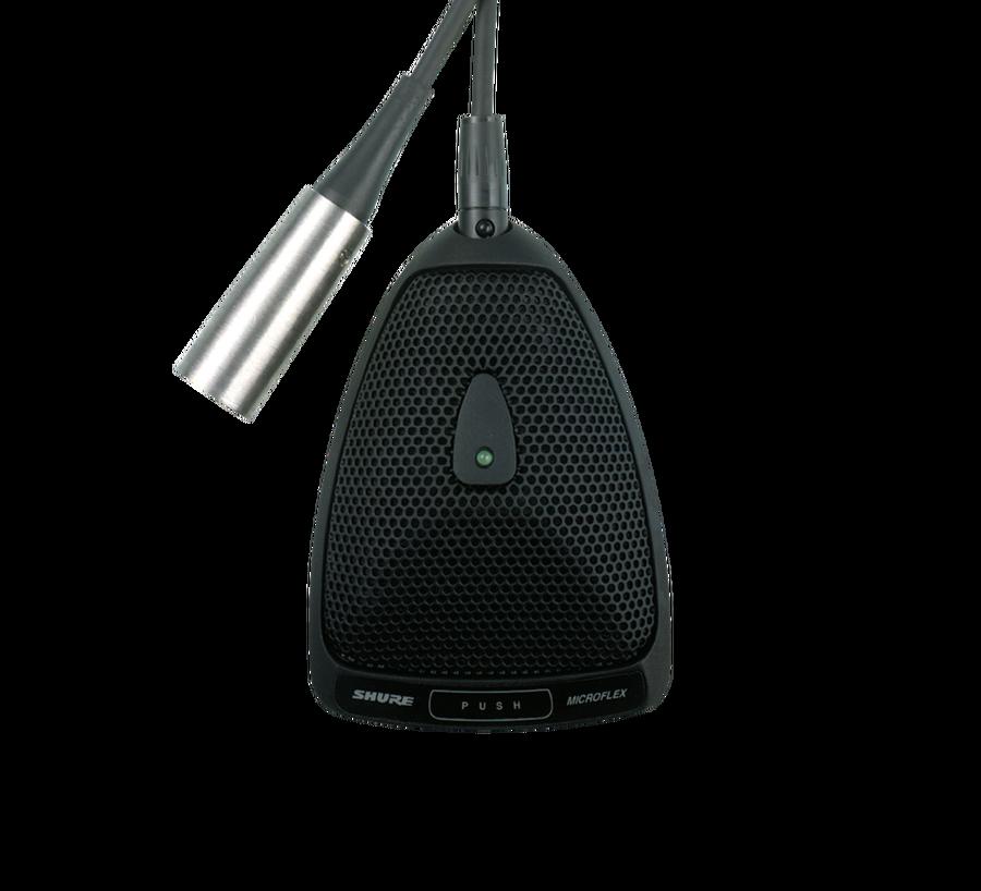 - Shure MX393/O Cardioid Boundary Condenser Mikrofon
