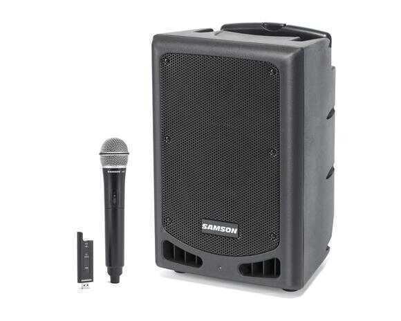 - Samson XP208W Bluetoothlu Portable PA Sistem