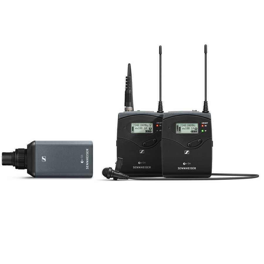 - Sennheiser ew 100 ENG G4-A Kamera Mikrofonu ve Transmitter