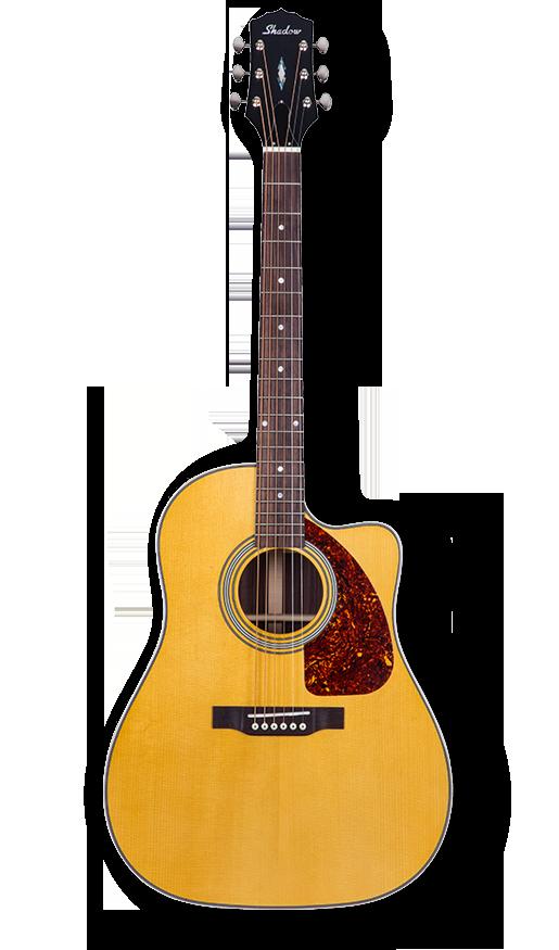 - Shadow JM-530RCE/NHG Dreadnought Cutaway Elektro Akustik Gitar