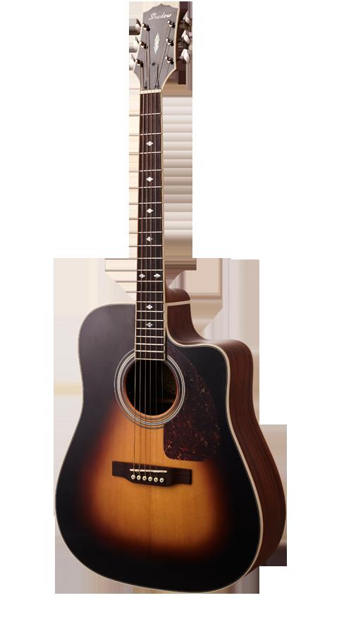 - Shadow JM-610MCE/SBHG Dreadnought Elektro Akustik Gitar