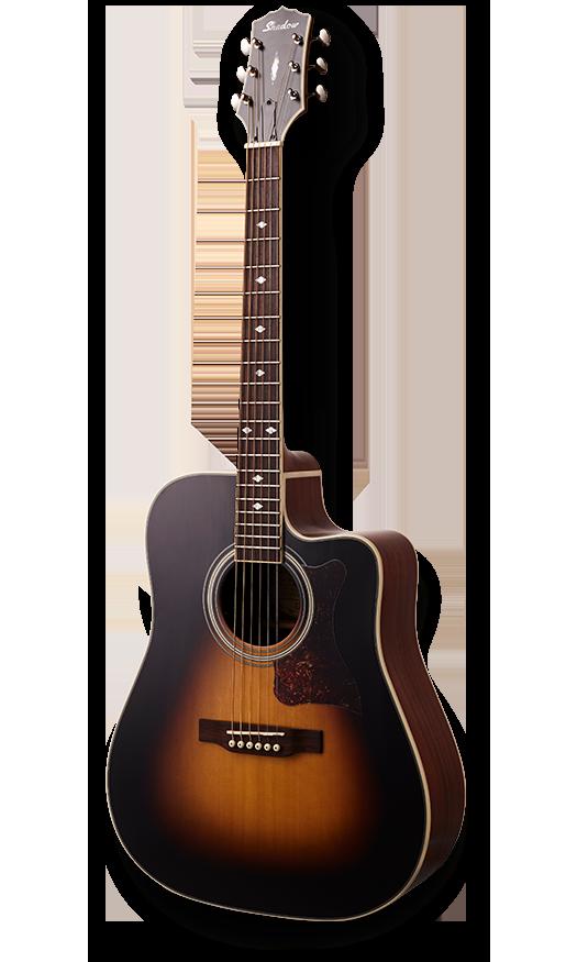 - Shadow JM-620MCE/SBS Dreadnought Elektro Akustik Gitar