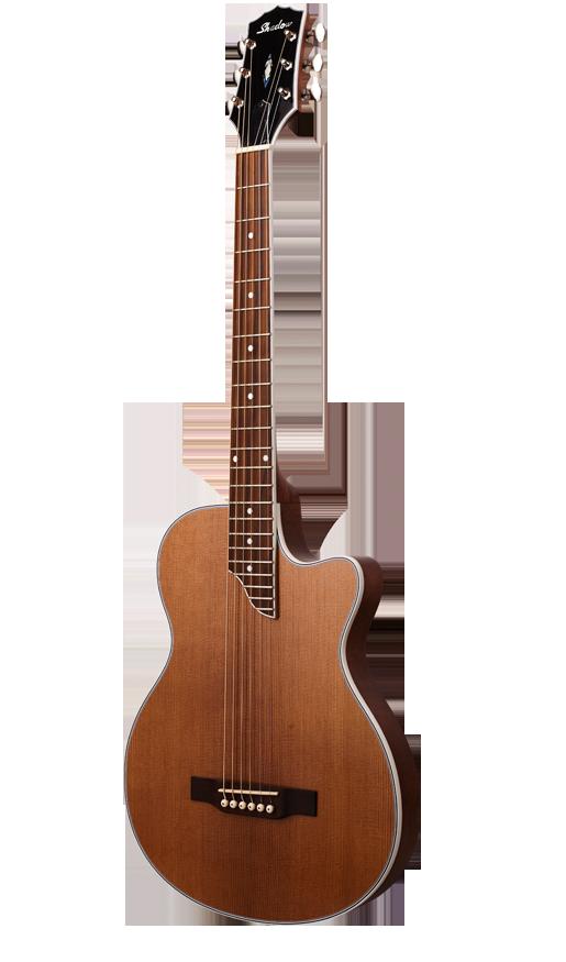 - Shadow JM-CA44 Elektro Akustik Gitar Alman ladin