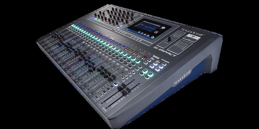 - Soundcraft Si Impact 40 Kanal Dijital Mikser