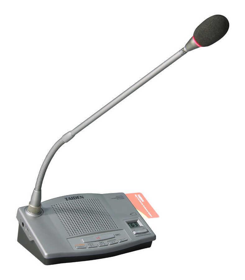 - Taiden HCS-4330DE/50 Kartlı Oylamalı Delege Mikrofonu