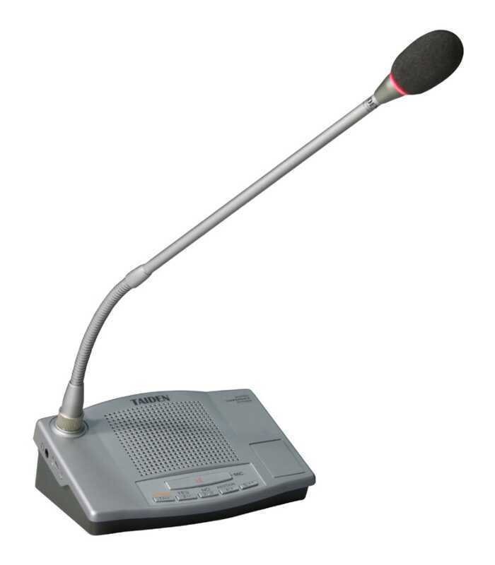 - Taiden HCS-4332DE/50 Oylamalı Delege Mikrofonu
