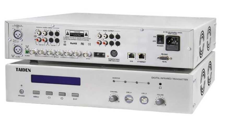 - Taiden HCS 5100MA/08N-8 Channel Digital IR Transmitter
