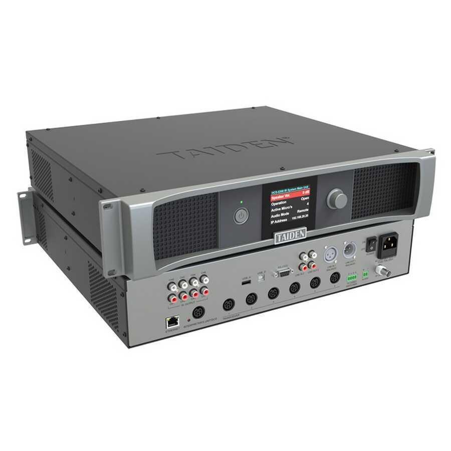 - Taiden HCS-5300 MA Dijital IR Kablosuz Konferans Sistemi (voting, 1+3CH)