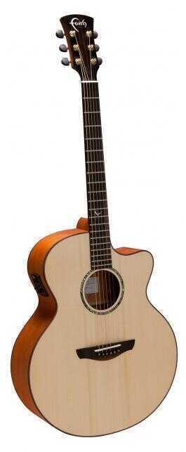 - Faith FJCE Natural Jupiter Cut/Electro Akustik Gitar + HARCASE HEDİYELİ