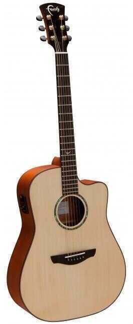 - Faith FSCE Faith FSCE Natural Saturn Cutaway Elektro Akustik Gitar+ HARCASE HEDİYELİ