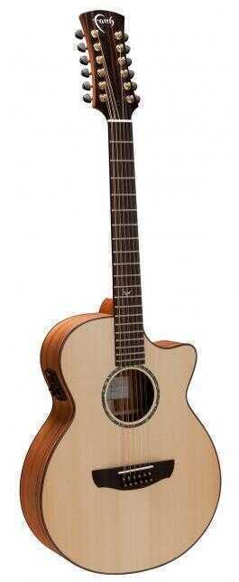 - Faith FV12TB Trembesi Venus 12 String Cut/Electro Akustik Gitar+ HARCASE HEDİYELİ